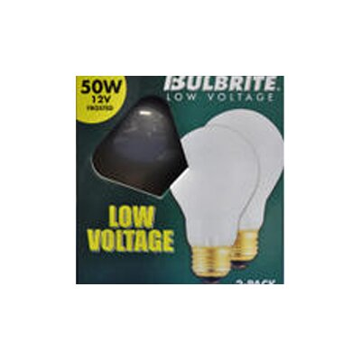 Bulbrite Industries 25W Frosted 12-Volt (2600K) Incandescent Light Bulb (Pack of 2)