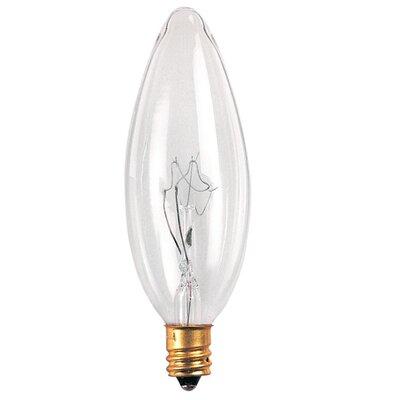 Bulbrite Industries European 40W 120-Volt (2700K) Incandescent Light Bulb (Pack of 2)