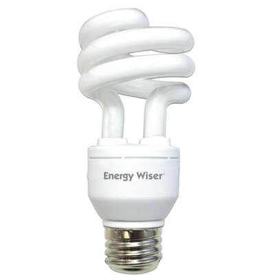 Bulbrite Industries Dimmable 120-Volt (2700K) Compact Fluorescent Light Bulb