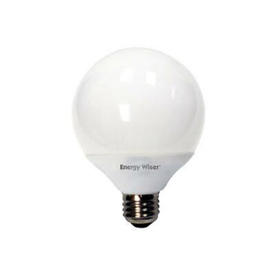 Bulbrite Industries 14W G25 Compact Fluorescent Globe Bulb in Soft White
