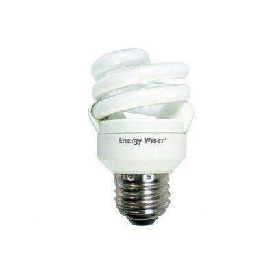 Bulbrite Industries 9W Super Mini Compact Fluorescent Coil in Soft Daylight