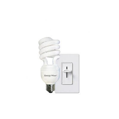 Bulbrite Industries 23W Dimmable Compact Fluorescent Coil in Warm White