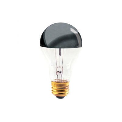 Bulbrite Industries 60W Half Chrome A19 A Shape Bulb