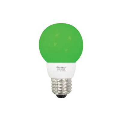 Bulbrite Industries 1W LED Decorative G16 Globe Bulb in Green