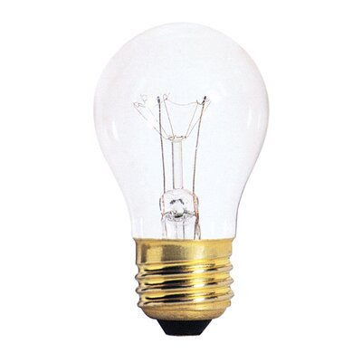 Bulbrite Industries 40W Standard Incandescent A15 Appliance Bulb in Clear