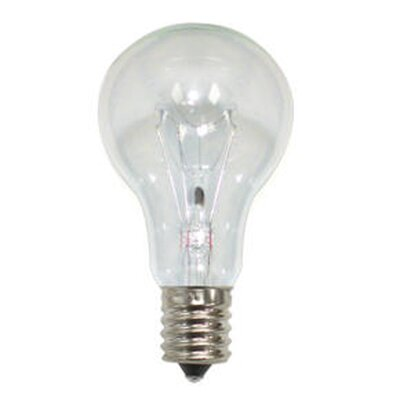 Bulbrite Industries 40W Incandescent A15 Fan Bulb in Clear