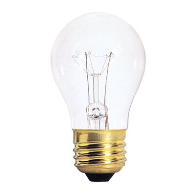 Bulbrite Industries 60W Standard Incandescent A15 Appliance Bulb in Clear
