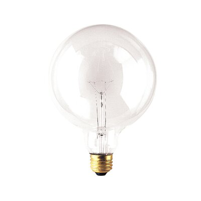 Bulbrite Industries G40 Medium Base Globe Light Incandescent Bulb