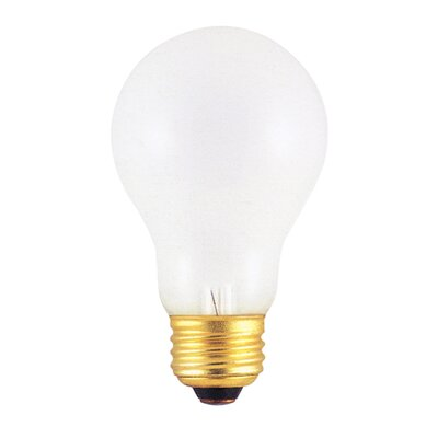 Bulbrite Industries 75W Incandescent A19 Rough Service Bulb in Warm White