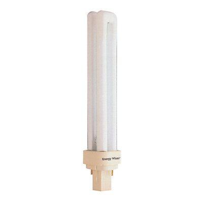 Bulbrite Industries 18W Compact Fluorescent Quad Magnetic 2-Pin Bulb in Cool White