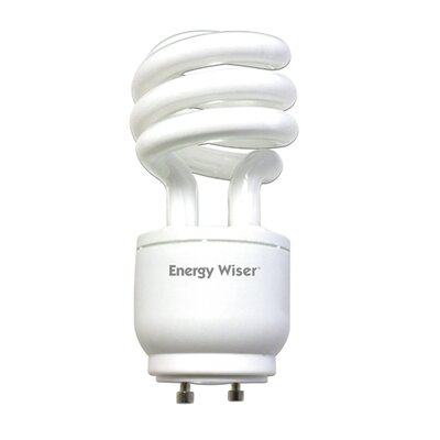 Bulbrite Industries 18W GU24 Energy Wiser Dimmable Compact Fluorescent Coil in Warm White