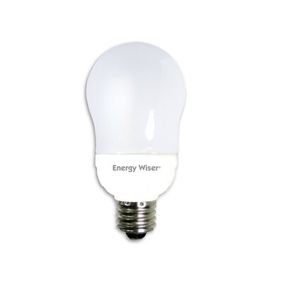 Bulbrite Industries 9W Energy Wiser Compact Fluorescent A17 Bulb in Warm White