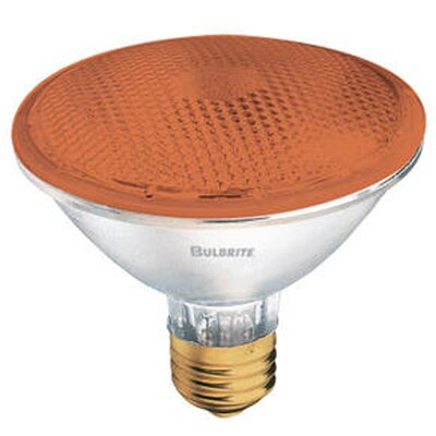 Bulbrite Industries 75W PAR30 Halogen Bulb in Amber