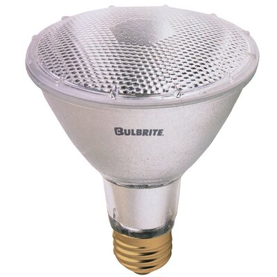 Bulbrite Industries 75W PAR30 Long Neck Halogen Narrow Flood Light Bulb in Warm White