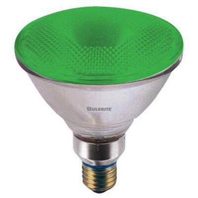 Bulbrite Industries 90W Green 120-Volt Halogen Light Bulb
