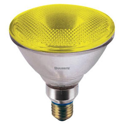 Bulbrite Industries 90W PAR38 Halogen Bulb in Yellow
