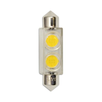 Bulbrite Industries 24V LED Miniature Festoon Bulb in Warm White