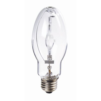 Bulbrite Industries Medium E26 Base Enclosed Fixture Metal Halide, Pulse Start, Universal Burn Incandescent Bulb