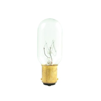 Bulbrite Industries T8 Tubular Double Contact Bayonet Base Incandescent Bulb