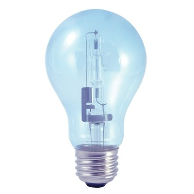 Bulbrite Industries True Daylight A19 ECO Halogen Bulb (Pack of 2)