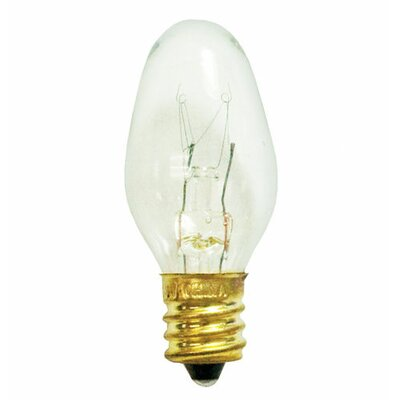 Bulbrite Industries 5W C7 Christmas Light in Clear