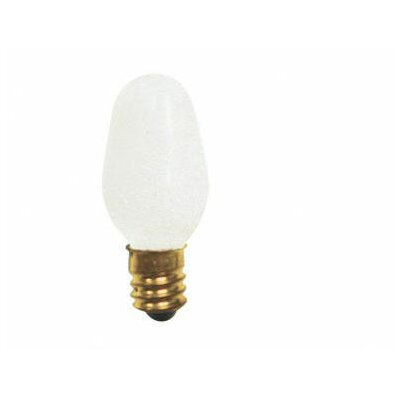 Bulbrite Industries 10W C7 Christmas Light in Clear