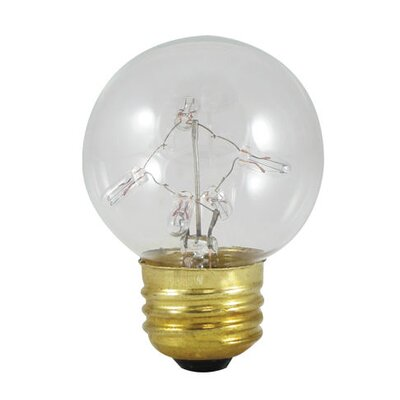 Bulbrite Industries 5W Starlight G16 Globe Bulb with Medium E26 Base in Warm White