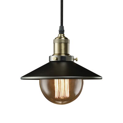 Bulbrite Industries Nostalgic Vintage 1-Light Mini Pendant