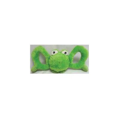 Jolly Pets Tug-A-Mals Frog in Green