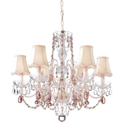 A La Mode 6 Light Chandelier
