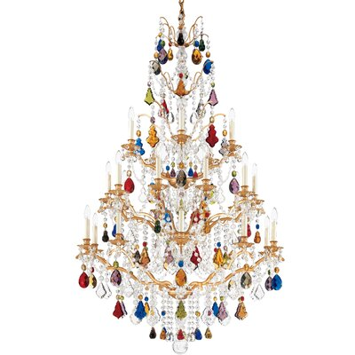 Schonbek Bordeaux 25 Light  Foyer Chandelier