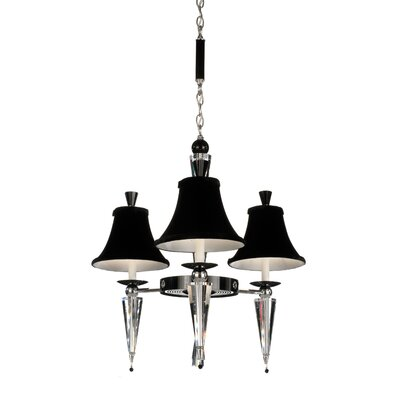 Schonbek Diva 3 Light  Chandelier