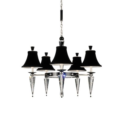 Schonbek Diva 5 Light Chandelier