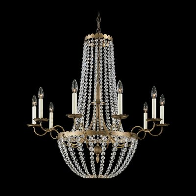 Early American 10 Light Chandelier