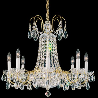 Schonbek La Belle 8 Light Chandelier