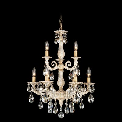 Schonbek Milano 9 Light Chandelier