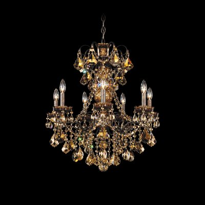 Schonbek New Orleans 7 Light Chandelier