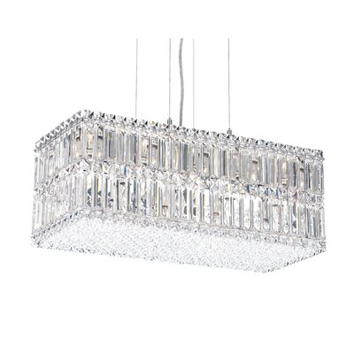 Quantum 18 Light Chandelier with Swarovski Crystal