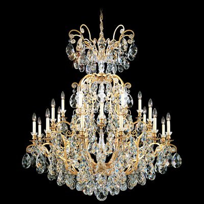Schonbek Renaissance 24 Light Chandelier