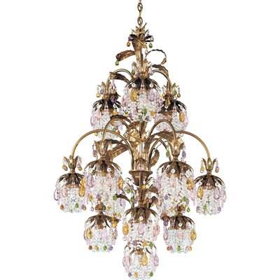 Rondelle 13 Light Chandelier
