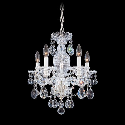 Schonbek Sterling 5 Light Mini Chandelier