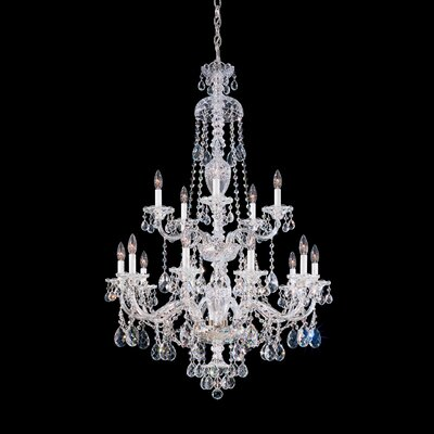 Schonbek Sterling 15 Light Chandelier