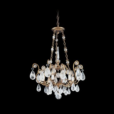 Versailles Rock Crystal 6 Light Pendant