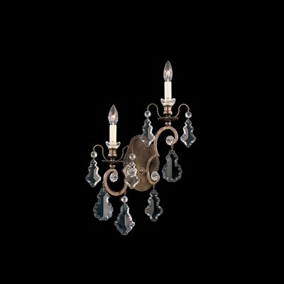 Schonbek Versailles Two Light Wall Sconce