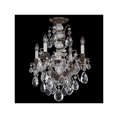 Schonbek Bordeaux 4 Light Chandelier