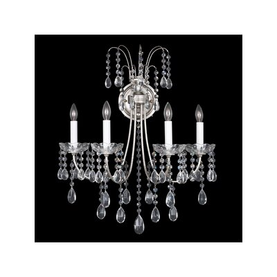 Schonbek Vesuvio Four Light Wall Sconce