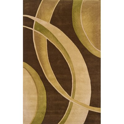 Continental Rug Company Edge Brown/Beige Rug