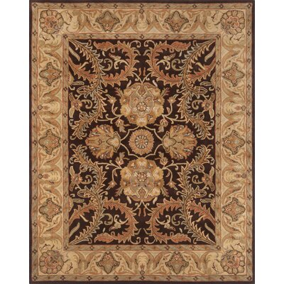 Continental Rug Company Pardis Brown/Light Gold Rug