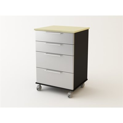 Ameriwood Industries 4 Drawer Cart