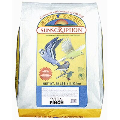 SunSeed 25 lbs Vita Finch Food